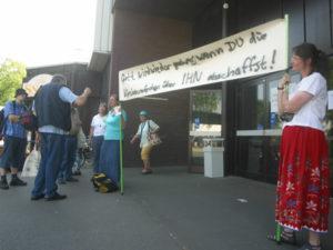 Schaffranek-Gruppe stört Gedenkgottesdienste